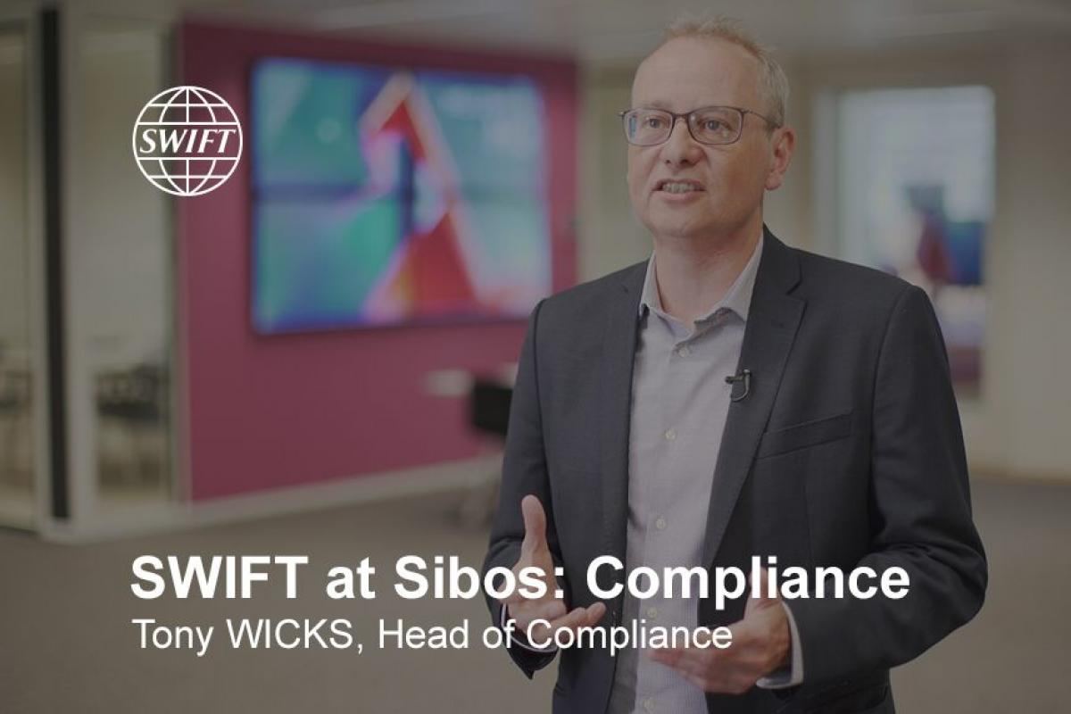 SWIFT at Sibos 2019 - Security and Compliance