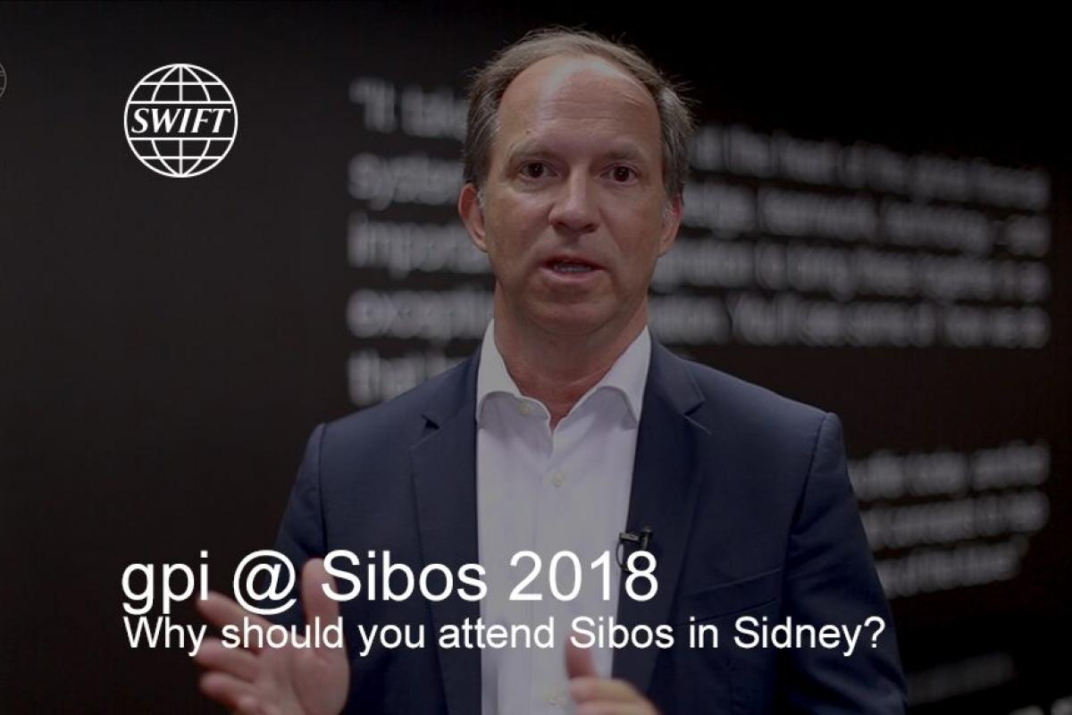 gpi at Sibos 2018