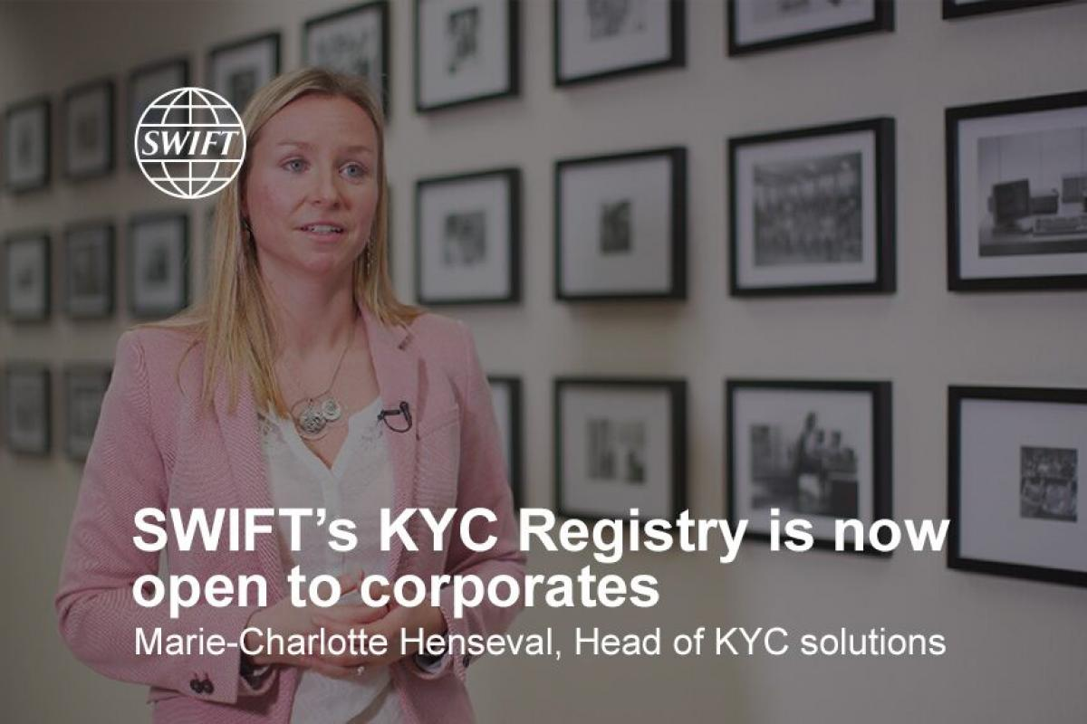 Enabling smoother Know Your Customer (KYC) processes for corporates