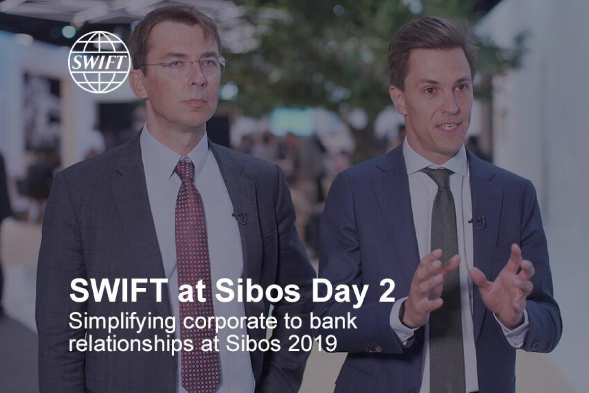 SWIFT at Sibos 2019 - Day 2