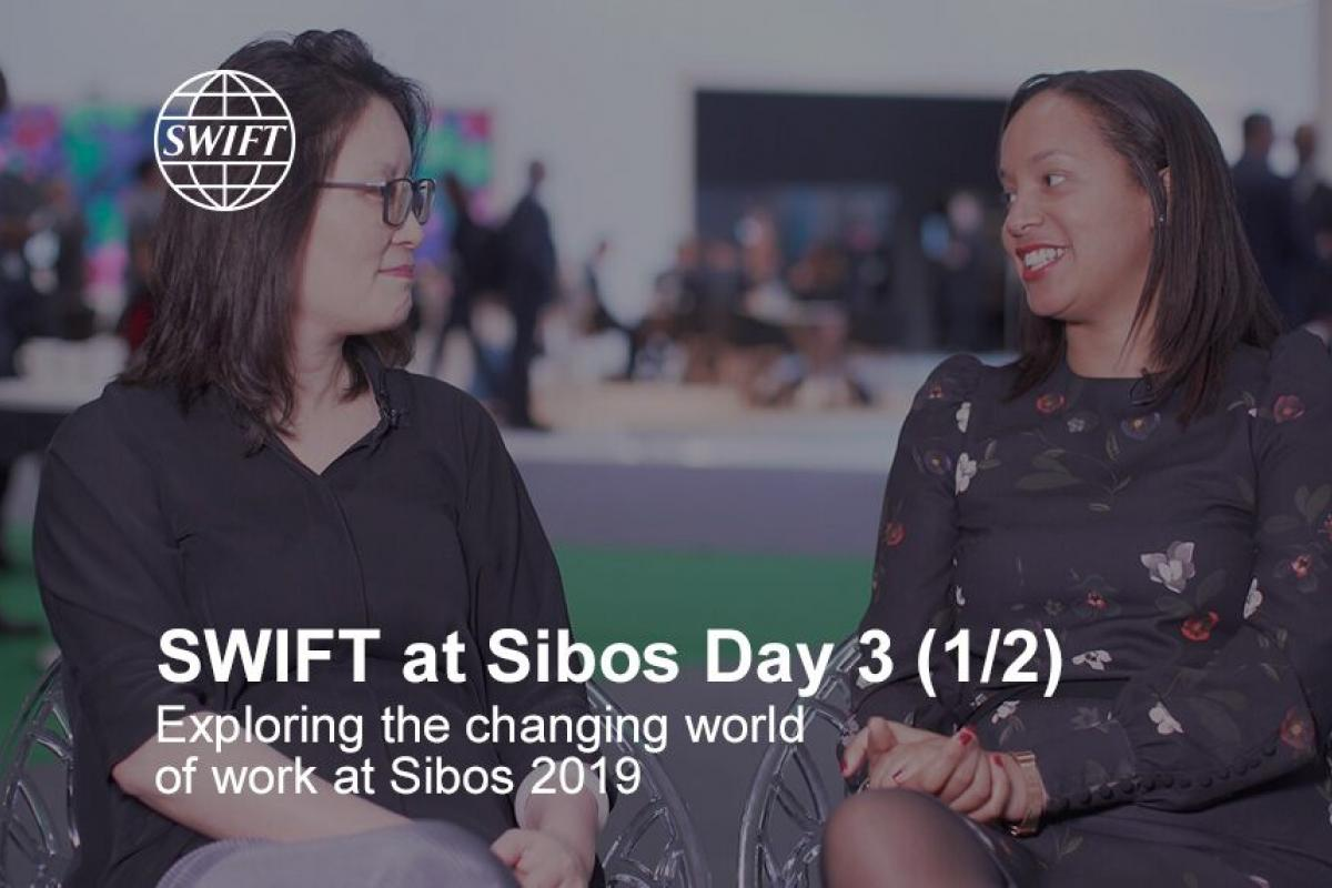 SWIFT at Sibos Day 3 (1/2)