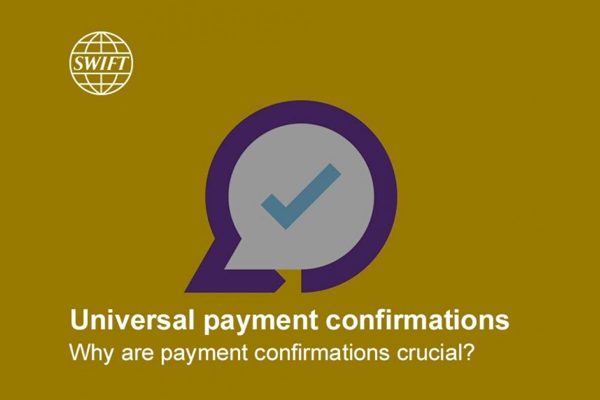 Why are payment confirmations crucial?