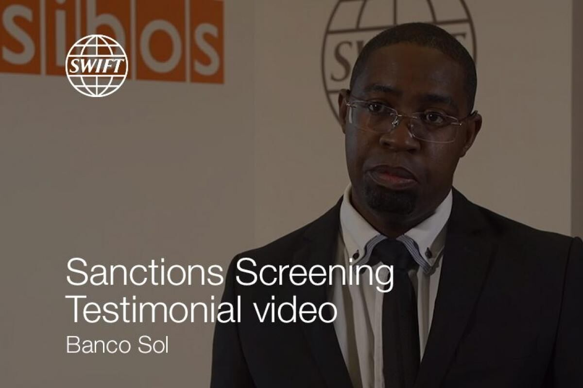 Sanctions Screening Testimonial – Banco Sol