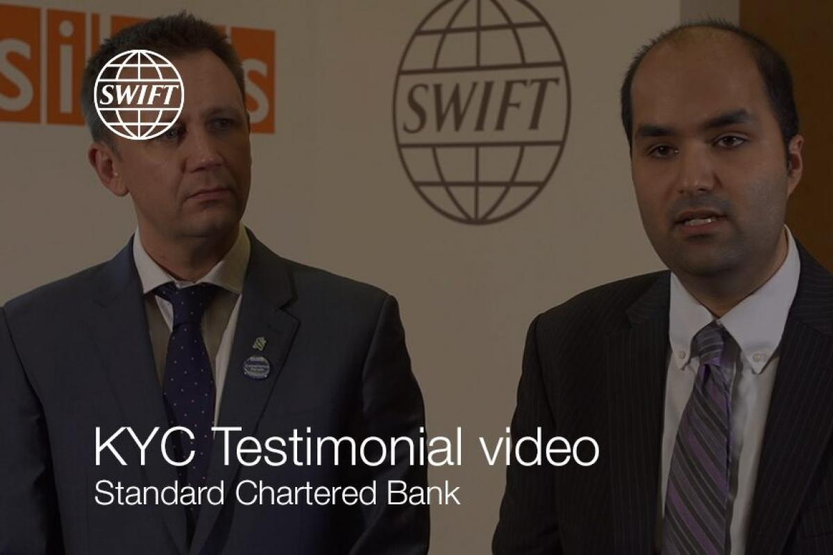 KYC Testimonial Video – Standard Chartered