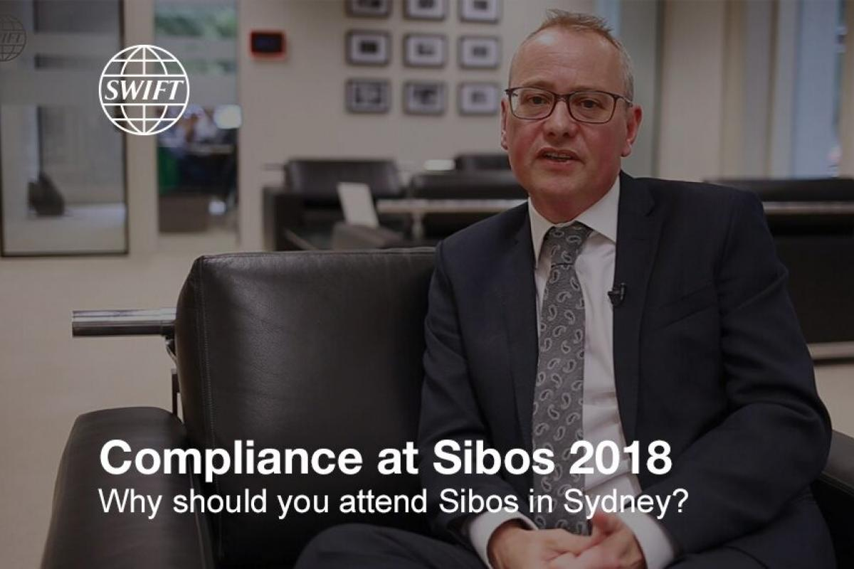 Compliance at Sibos 2018