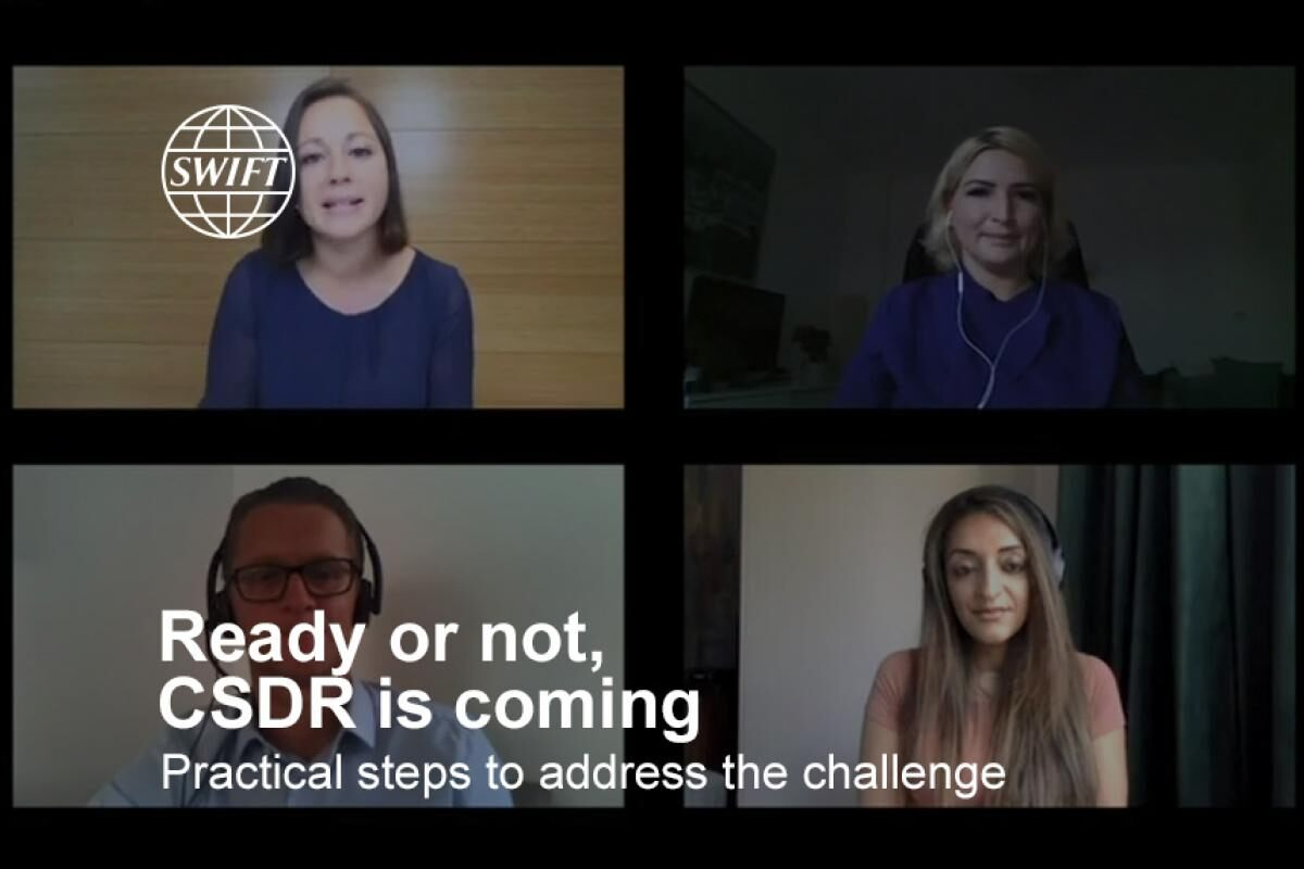Ready or not, CSDR is coming