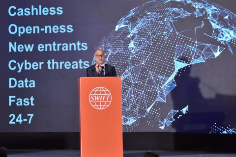 SWIFT India and South Asia Regional Conference - Alain Raes