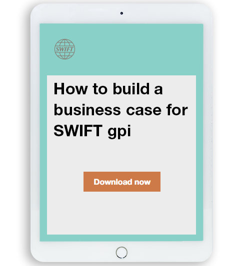 SWIFT gpi ebook business case mobile