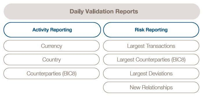 Daily Validation Reports infographics