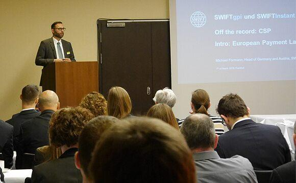 SWIFT gpi and Instant Payments event Frankfurt