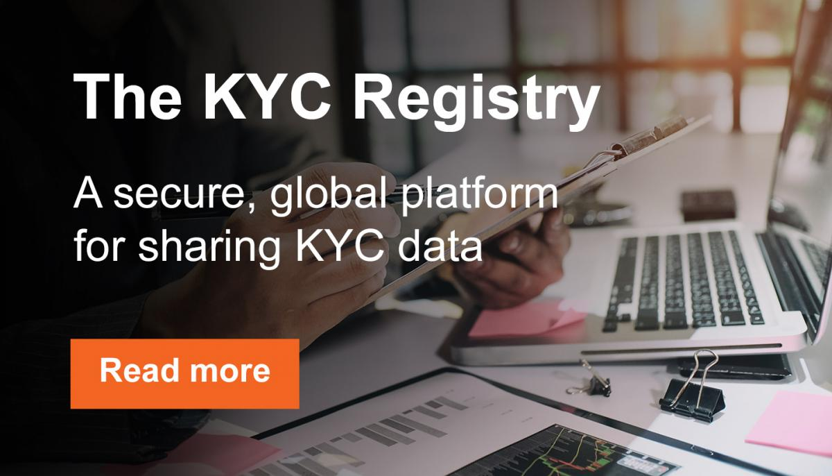 The KYC Registry: Simplifying the Know Your Customer (KYC) process.