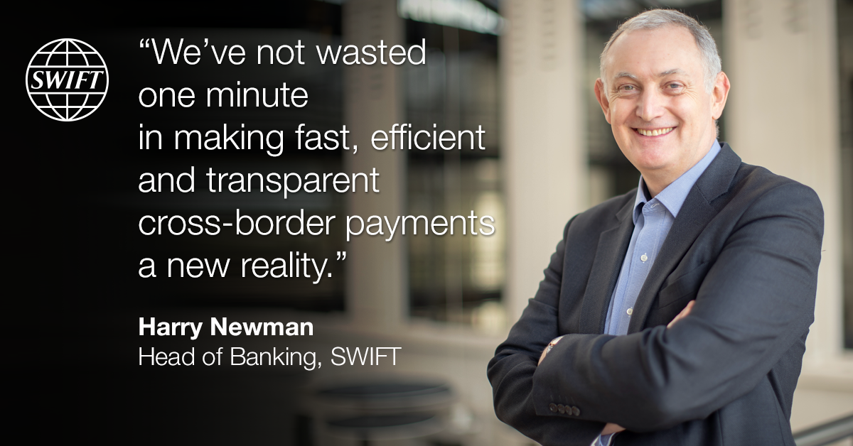 Harry Newman, Head of Banking, SWIFT