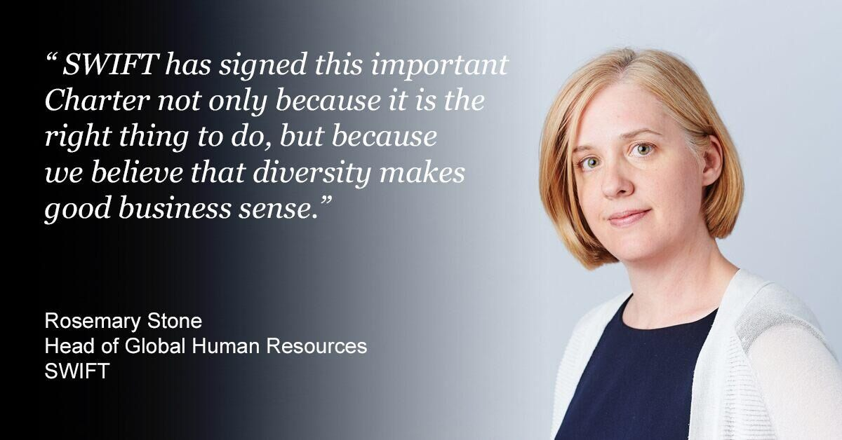 Rosemary Stone, Head of Global Human Resources, SWIFT