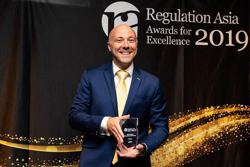 Regulation Asia Awards for Excellence 2019 at a ceremony in Singapore